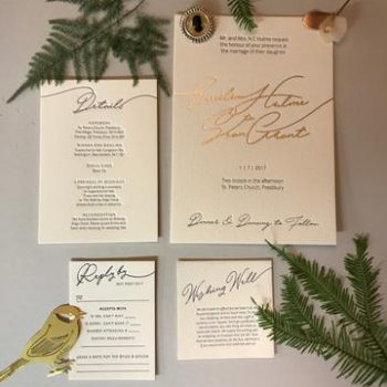 Wedding Day Stationery