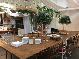 Wedding furniture and props