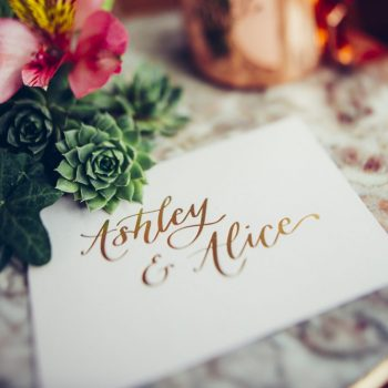 Wedding Fair Styled Shoot