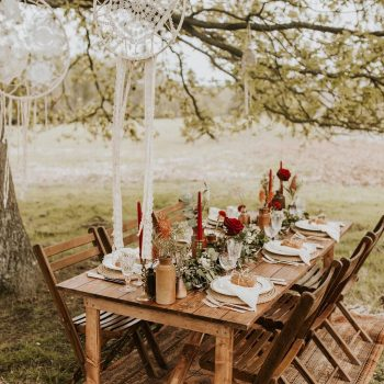 Wedding prop hire/styling