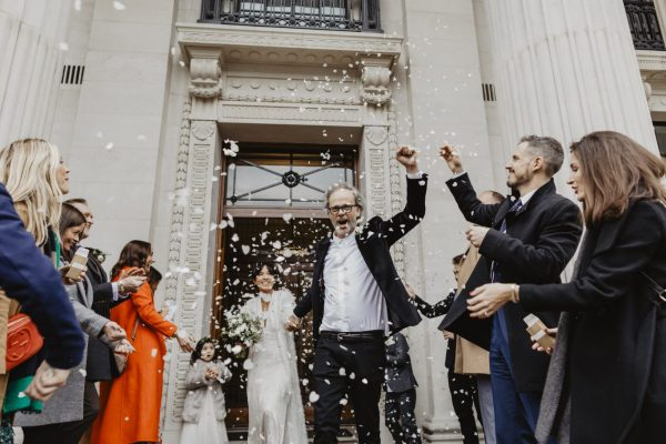 Cool London Wedding